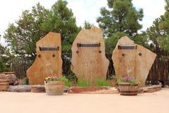Cachoeiras de pedra da laje Imagem de Stock