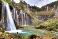 Cachoeiras de Plitvice Imagens de Stock Royalty Free