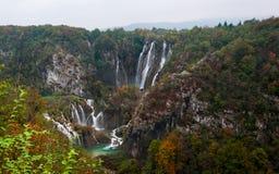 Cachoeiras de Plitvice Imagens de Stock