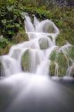 Cachoeiras de Plitvice, Croatia Fotos de Stock