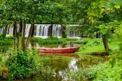 Cachoeiras de Pliva Fotos de Stock Royalty Free