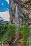 Cachoeiras de Vanturatoarea, Romênia Imagens de Stock