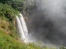 Cachoeiras de Wailua em Kauai, Havaí Fotos de Stock Royalty Free