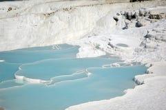 Cachoeiras do cálcio Fotografia de Stock Royalty Free