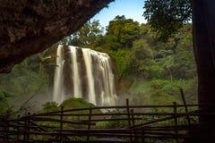 cachoeiras do sewu foto de stock