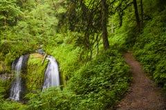 Cachoeiras e fuga bonitas Imagem de Stock