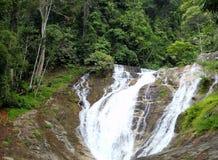 Cachoeiras em Cameron Highlands, Malásia imagens de stock