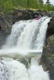 Cachoeiras em Noruega foto de stock