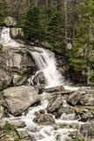 Cachoeiras em Tatras alto Imagem de Stock