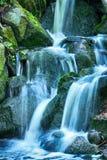 Cachoeiras na natureza verde Imagens de Stock