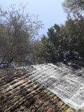 Cachoeiras no jardim de rocha imagem de stock royalty free