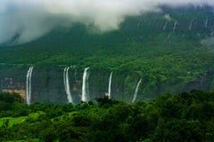 Cachoeiras no Maharashtra, Índia Imagem de Stock Royalty Free