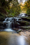 Cachoeiras no parque nacional das montanhas azuis Imagens de Stock Royalty Free