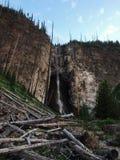 Cachoeiras no parque nacional de Yellowstone Foto de Stock Royalty Free