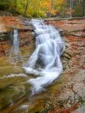 Cachoeiras, quedas, outono, paisagem Fotos de Stock
