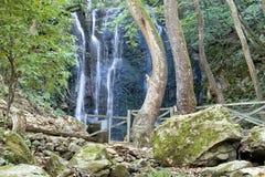 Cachoeiras surpreendentes, Strumica, Macedônia Fotografia de Stock