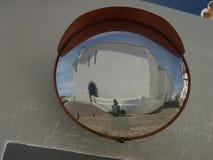 Cachopo через зеркало Стоковые Изображения RF