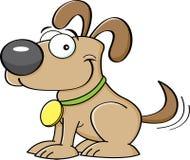 Cachorrinho dos desenhos animados Fotografia de Stock