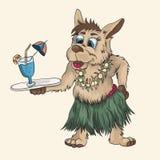 Cachorrinho pequeno do Papuan ilustração stock