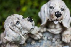 Cachorrinhos da porcelana imagem de stock royalty free