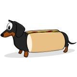 Cachorro quente ilustração royalty free