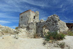 Cachtice castle Royalty Free Stock Photos