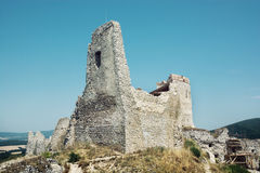 Cachtice castle in summer, Slovak republic Royalty Free Stock Images