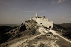Cachtice Schloss stockbilder