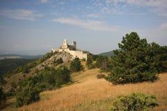 Cachtice Schloss lizenzfreies stockbild