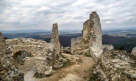Cachtice slott, Slovakien Royaltyfri Foto