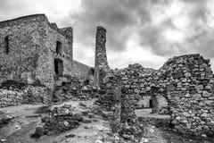 Cachtice slott, Slovakien Royaltyfri Fotografi