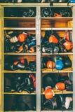 Cacifo do encaixotamento foto de stock