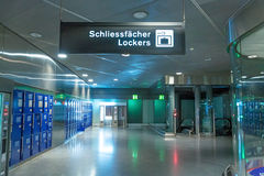 Cacifos no aeroporto Imagens de Stock