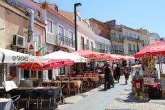 Cacilhas portugal Fotografia Stock Libera da Diritti