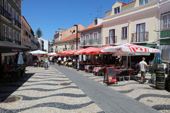 Cacilhas. Portugal Stock Image