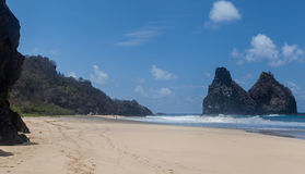 Cacimba do Padre Fernando de Noronha Island Royalty Free Stock Images