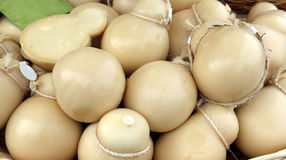 Caciocavallo cheese typical dish of southern Italian Royalty Free Stock Images