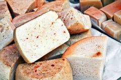 Caciotta cheese Royalty Free Stock Photos