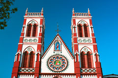 Free Cacred Heart Church In Pondicherry Stock Photography - 11573102