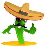 Cacto fresco mexicano stock de ilustración