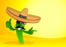 Cacto mexicano Foto de archivo libre de regalías