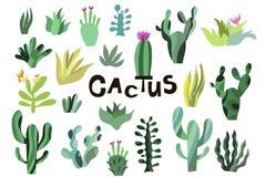 Cactus1 royalty free illustration