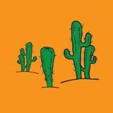 Cactus cartoon Stock Photography