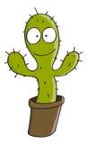 Cactus de dessin animé Image stock