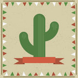 Cactus decoration Royalty Free Stock Images