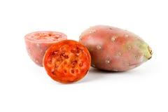 Cactus Fruit. With white background stock photos
