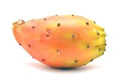 Cactus fruit. Isolated on white stock photography