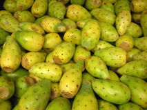 Cactus fruit for Sale [Tuna]. Mexican fruits for sale at an outdoor market in Chiapas, Mexico Royalty Free Stock Photo