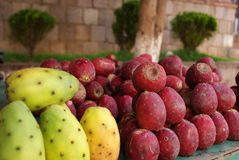Cactus fruits on display in Zacatecas Royalty Free Stock Photo