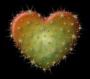 Cactus Heart Royalty Free Stock Photo